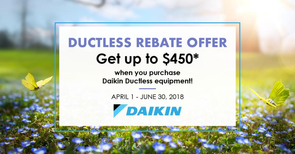 daikin ductless rebate ottawa