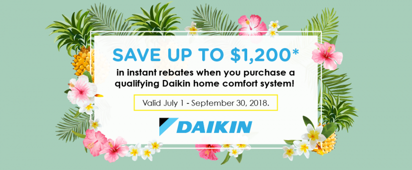 Slide into Summer with our Daikin Promotion! - Team Harding