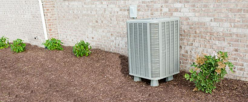 Air conditioner ready for fall