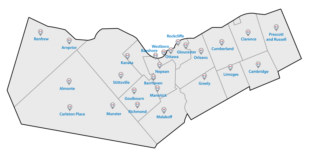 Harding Ottawa HVAC Carp Service Area