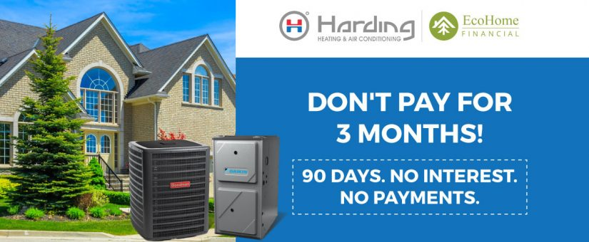 3 Month Deferral When You Finance your System with EcoHome